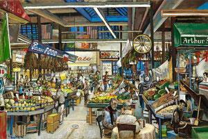 Arthur Avenue Retail Market by Daniel Hauben
