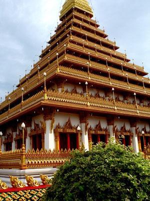 Tempel in Khon Khaen (NO-Thailand)