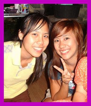 Thais sind freundliche und wie man sieht auch hübsche Menschen