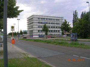 """Am Oktogon"", Gebäude B1, 15.6.2013"