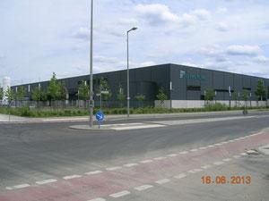 Soltecture Neubau, Fabrikhalle, 16.6.2013