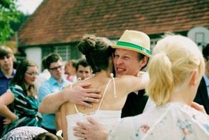 Ferdie F. gratuliert der Braut!