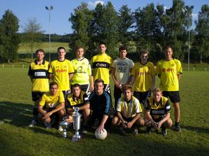 Unsere Mannschaft nach dem Turniersieg in Eisenbach