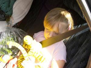 Abschied von meiner Tochter am 08.08.2008