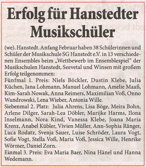 Unser Hanstedt März 2008