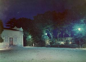 """""""Villa Genero"""", illuminazione di Guido Chiarelli, 1961"""