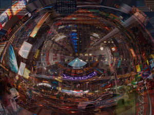 Times Square, fine art photo by Alessandro Actis, Italy