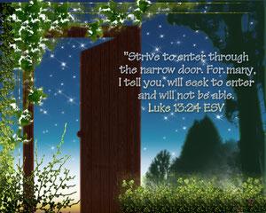 Luke 13:24