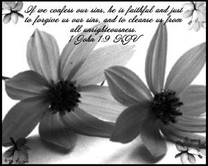 1st John 1:9