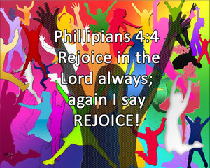 Phillipians 4:4
