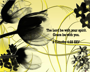 2nd Timothy 4:22
