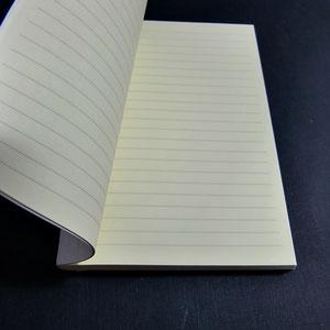 Buchblock liniert