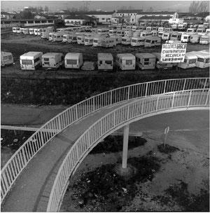 Parking caravanas 1986