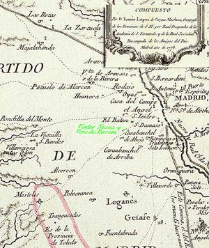 Mapa de Tomás Lopez 1773