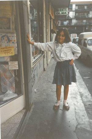 1988, al fondo la calle Mayor
