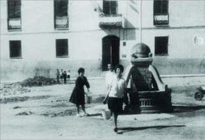Plaza del ayuntamiento 1960