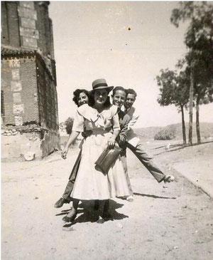 Calle Mayor, junto a Santa Mª la Blanca 1948