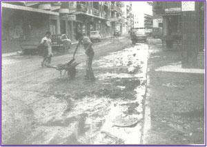 Calle Fuenlabrada 1960. Fotografía cortesía de Alberto García