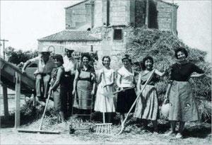 En la era detrás de la iglesia 1959
