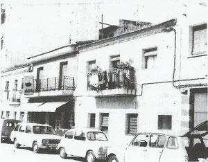 Calle Fuenlabrada nº 25 y 27. Años 60