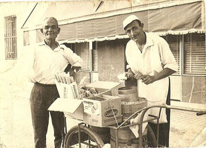 Heladero ambulante 1966