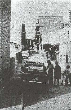 Calle arboleda desde abajo años 70