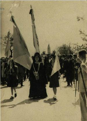 Procesión Virgen de Fátima 1945