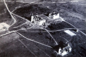 Los Castillos desde el aire1961