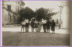 Calle Mayor 1968. Fotografía por cortesía de Alberto García