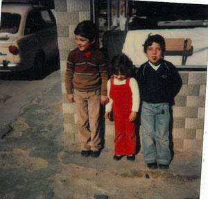 1981, en el escaparate de lanas Pascual