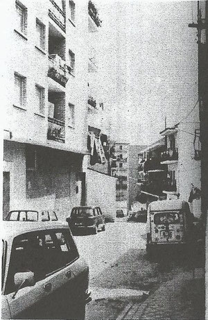 Calle arboleda desde arriba años 80