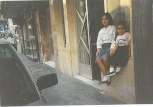 1988 en la peluquería Arellano