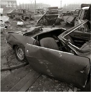Desguace de coches en Urtinsa 1987