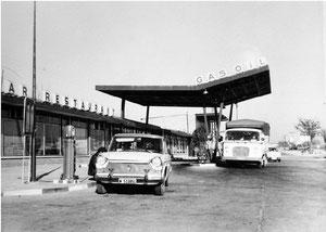 Gasolinera 1964 (actual BP cerca de la estación de las retamas)