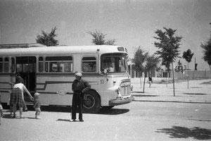Cerca del colegio Valderas 1979