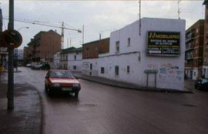 Paseo de Castilla años 80