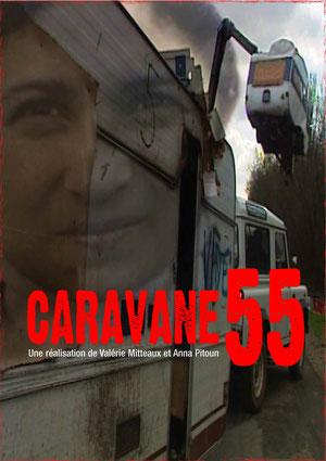 affiche du film CARAVANE 55