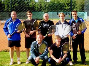 Herren-Mannschaft 2011 - Aufstieg in Kreisliga