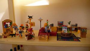 Jeux de rôle pour enfants avec des figurines