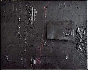 Leipzig_GER | 2013 >>NACHRICHT AN J.J.<< [ oil and acryl on canvas_40 x 50 centimeters ]