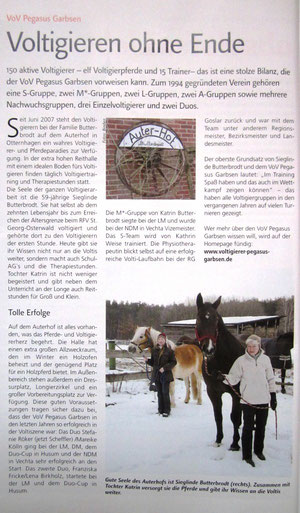 Reitsport-Magazin Februar 2011