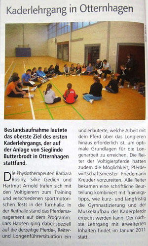 Reitsport-Magazin Januar 2011