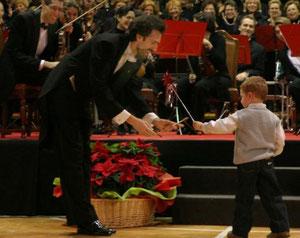 corale le voci dei berici Natale 2005 bacchetta magica