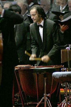 concerto Natale 2005 percussionista