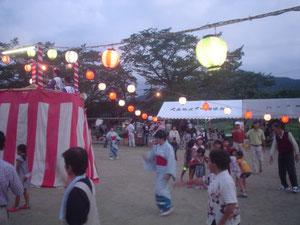 盆踊り♪(過去の夏祭り)