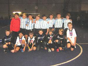 hinten: DI-Jugend Turniersieger 2010 vorne: DII-Jugend Platz 4