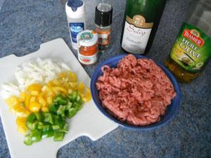 Ingrédients pour axo de veau