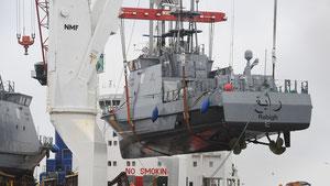 28.07.2017 - RT-Deutsch: Ein Küstenschutzboot aus Deutschland für Saudi-Arabien
