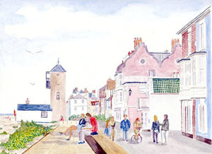 Aldeburgh - Promenade and Gables