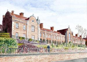 Woodbridge - Seckford Almshouses